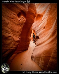 Ivana in Wire Pass Canyon (3)