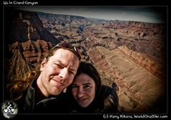 Us in Grand Canyon