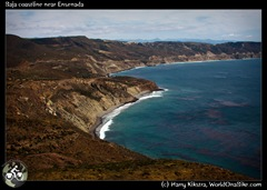 Baja coastline near Ensenada