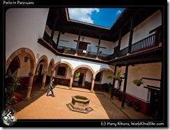 Patio in Patzcuaro