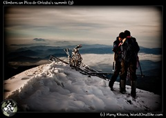 Climbers on Pico de Orizaba's summit (3)