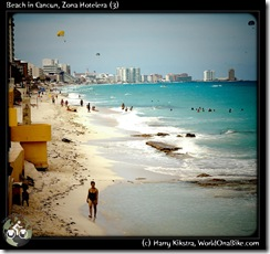 Beach in Cancun, Zona Hotelera (3)