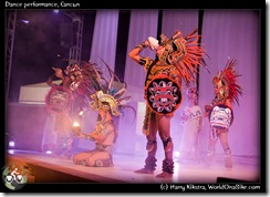 Dance performance, Cancun
