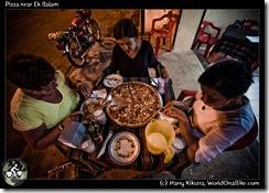 Pizza near Ek Balam