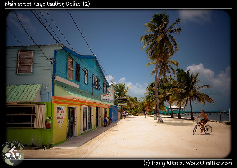 Day 393-401, 8-16 Aug 09: The Islas Bonitas of Belize: chillin on San Pedro & Cay Caulker