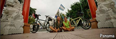 Harry & Ivana's bicycle trip Across the Americas